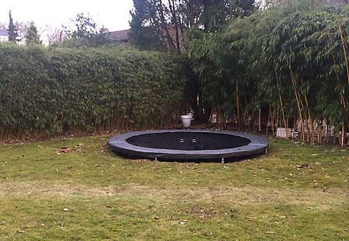 trampoline weer als nieuw